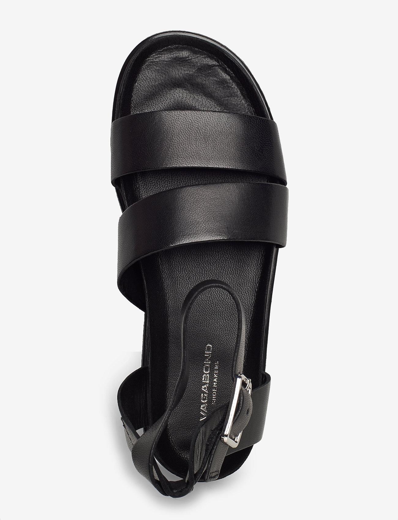 VAGABOND - ERIN - płaskie sandały - black - 3
