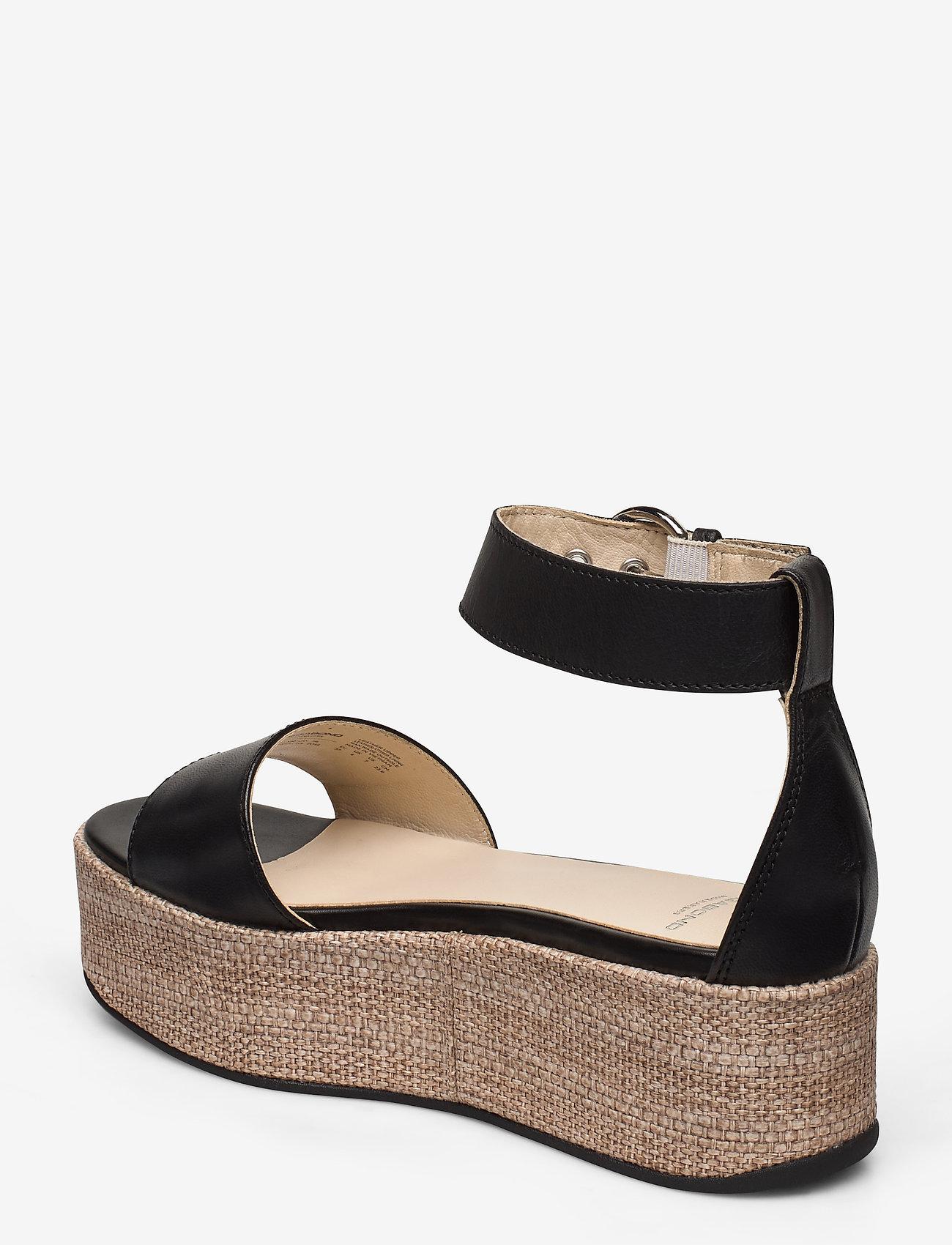 VAGABOND - FELICIA - heeled espadrilles - black - 2