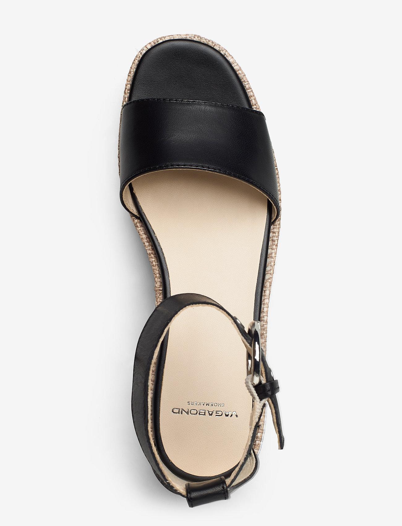 VAGABOND - FELICIA - heeled espadrilles - black - 3