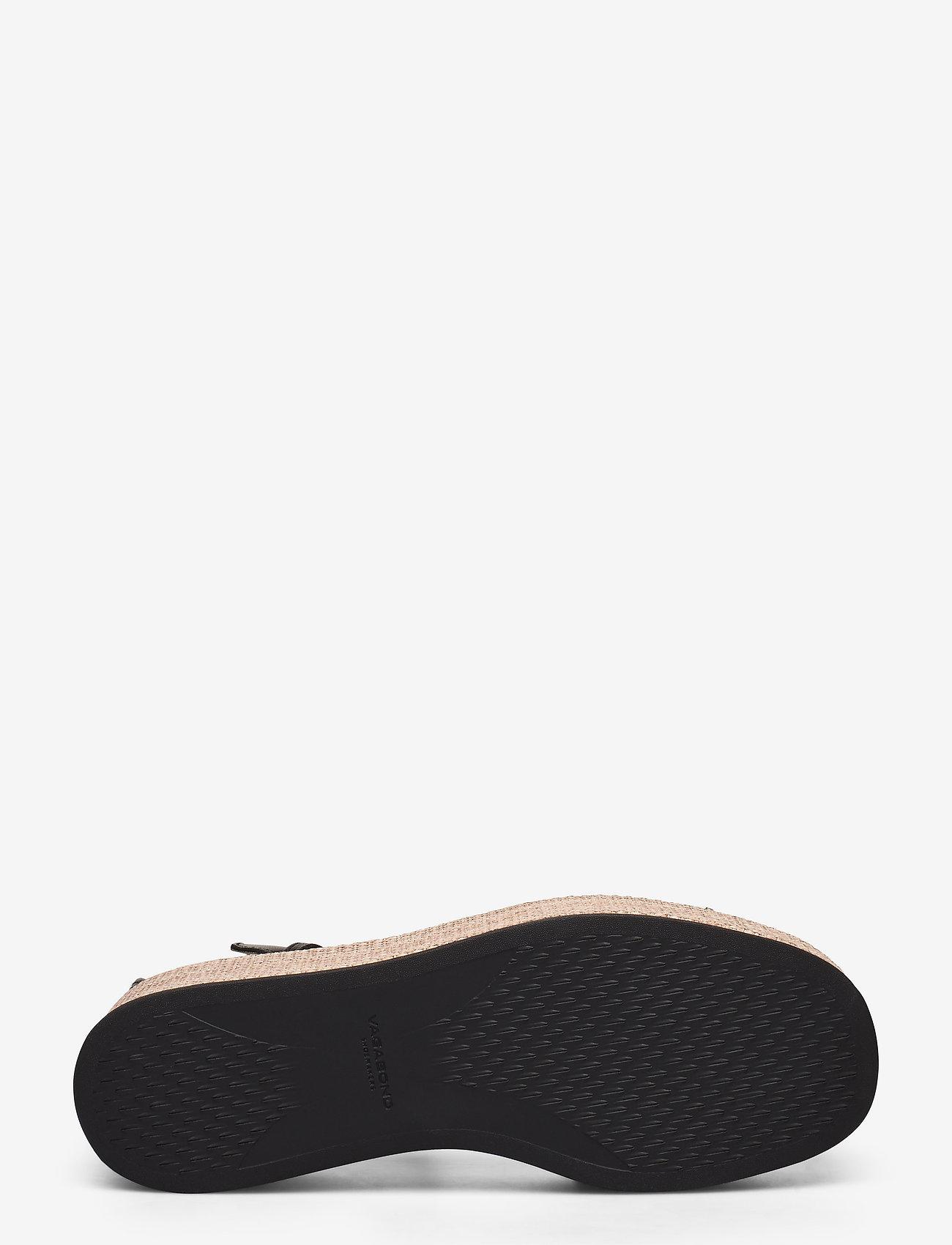VAGABOND - FELICIA - heeled espadrilles - black - 4