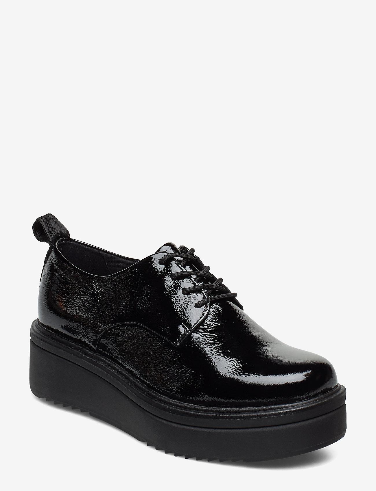 VAGABOND - TARA - buty sznurowane - black - 0