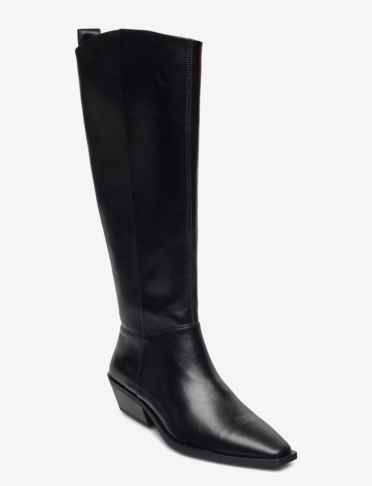 VAGABOND - ALLY - lange laarzen - black - 0
