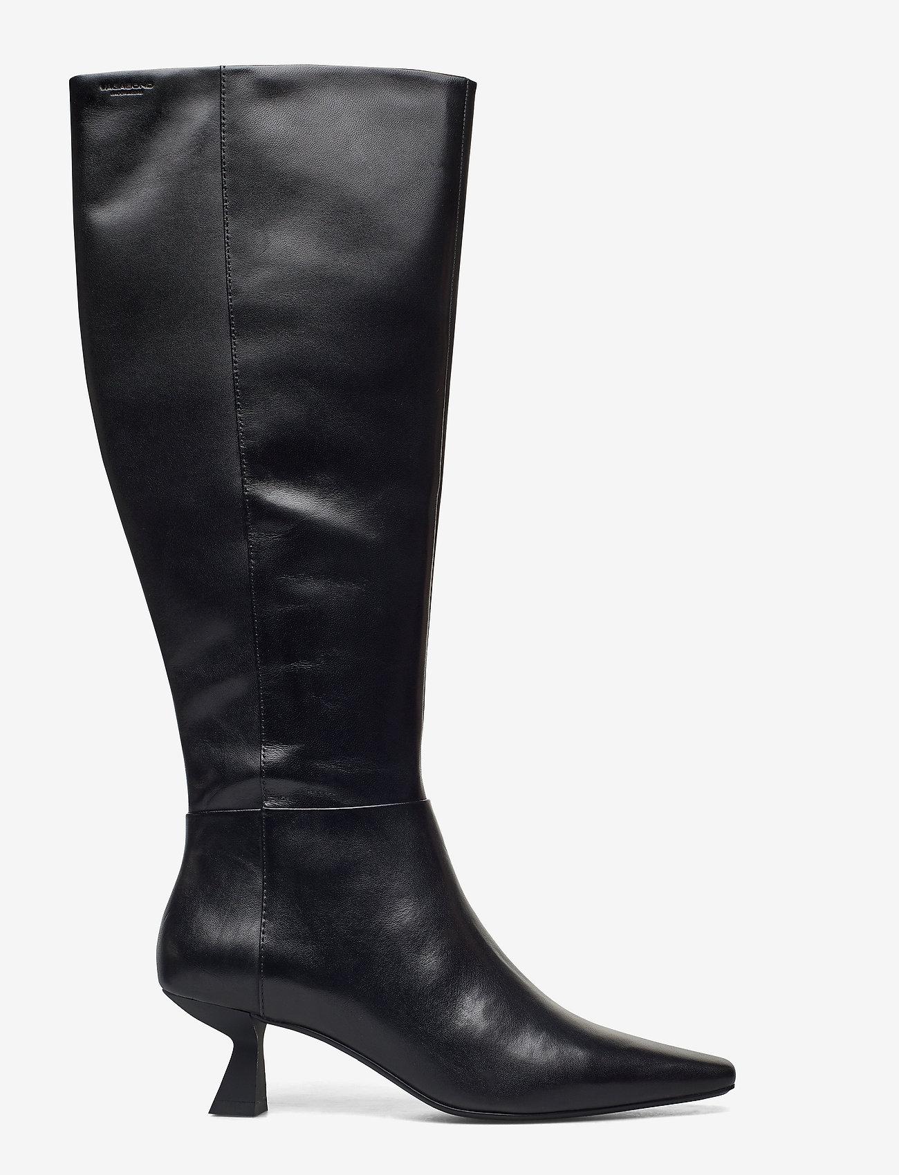 VAGABOND - LISSIE - lange laarzen - black - 1