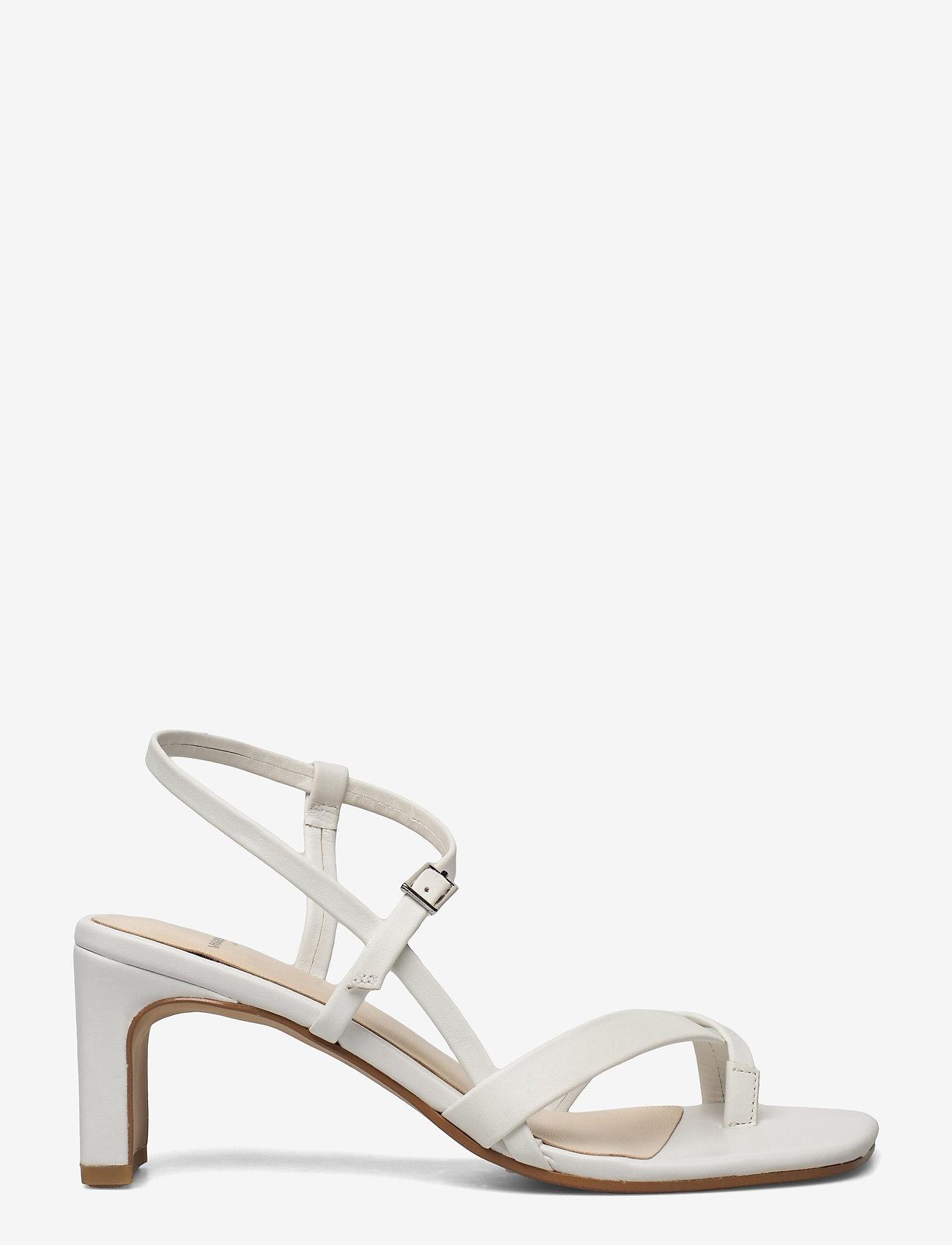 VAGABOND - LUISA - sandały na obcasie - white - 1