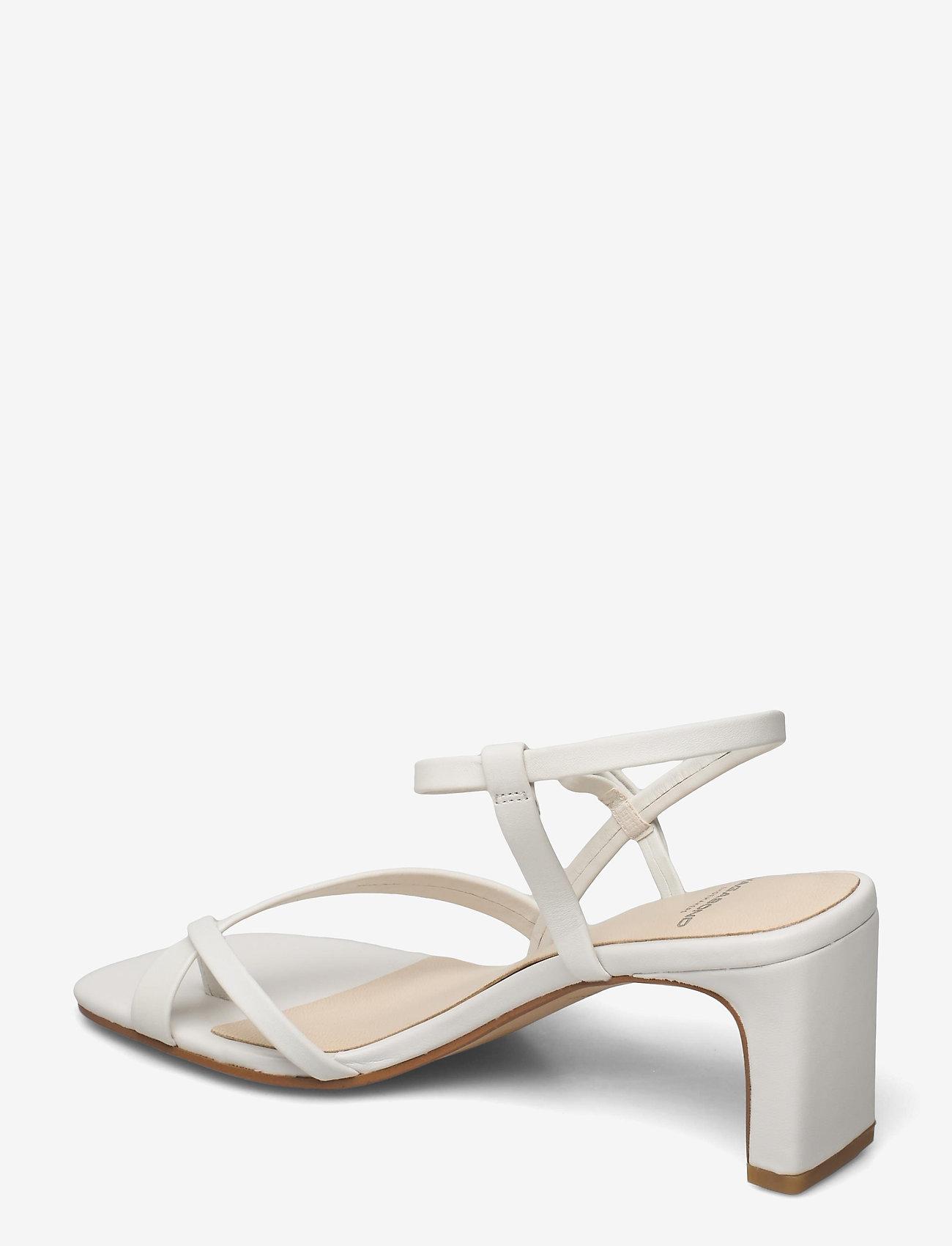 VAGABOND - LUISA - sandały na obcasie - white - 2