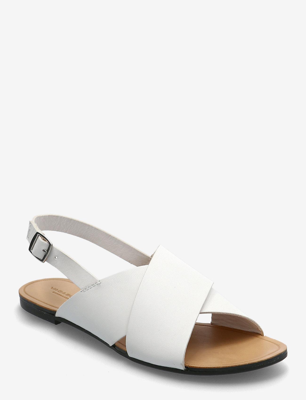 VAGABOND - TIA - płaskie sandały - white - 0