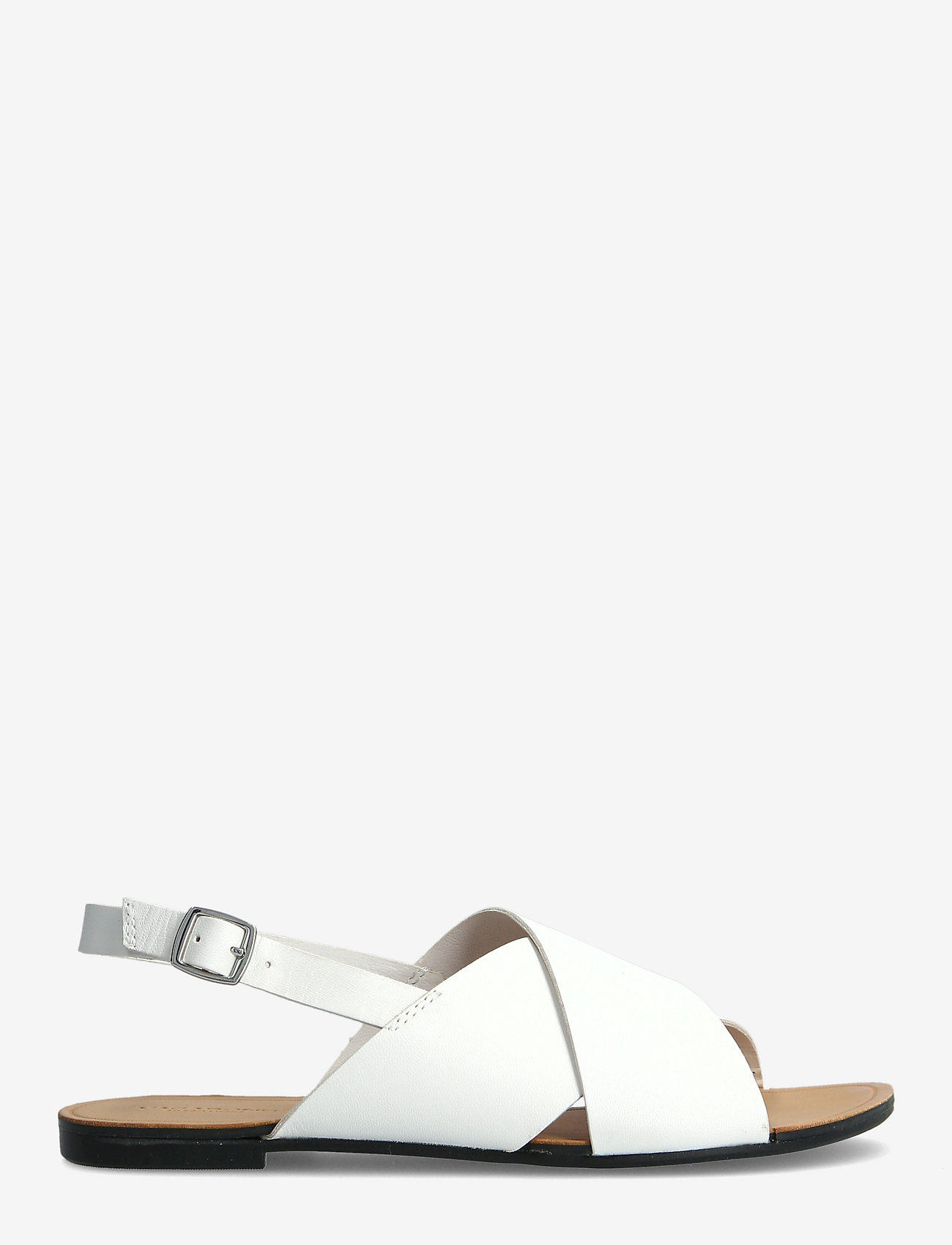 VAGABOND - TIA - płaskie sandały - white - 1