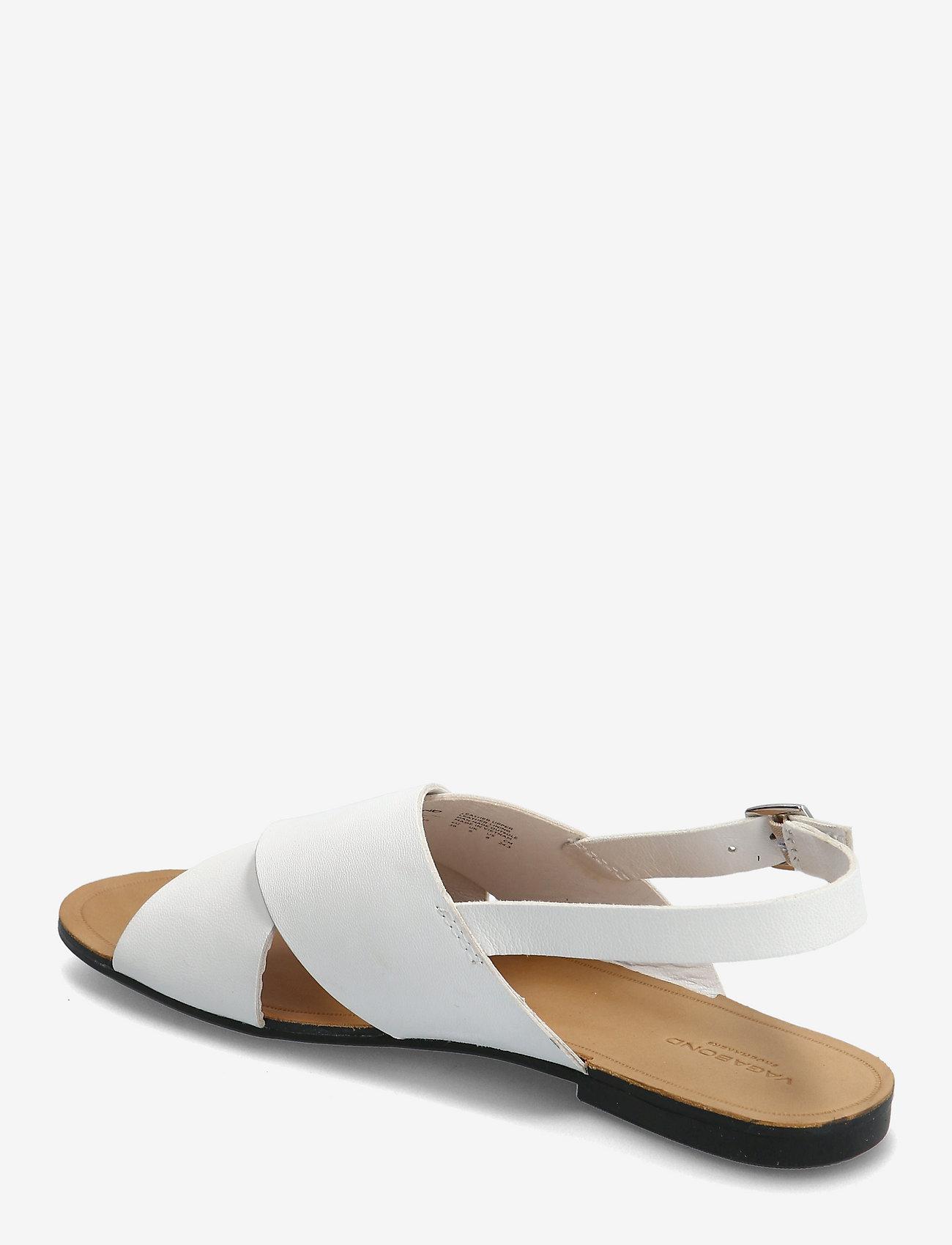 VAGABOND - TIA - płaskie sandały - white - 2