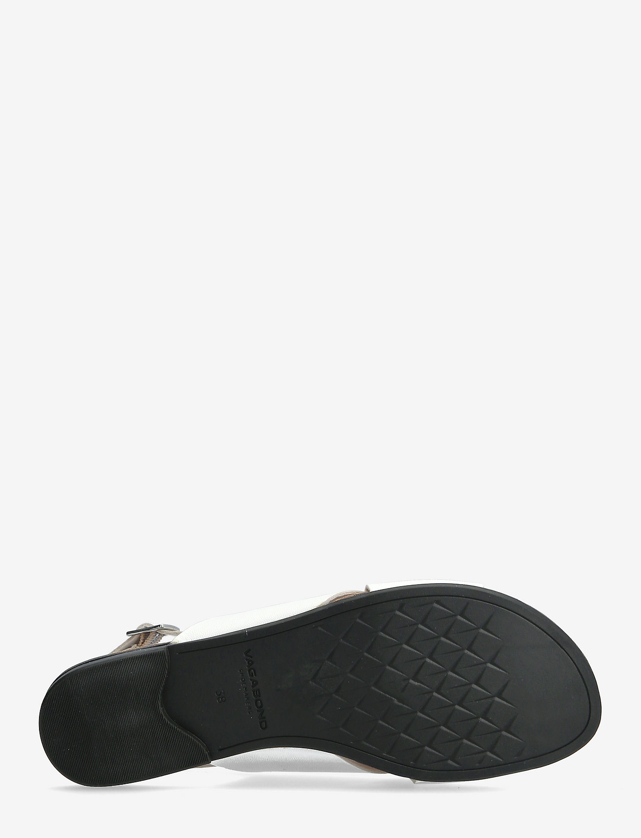 VAGABOND - TIA - płaskie sandały - white - 4