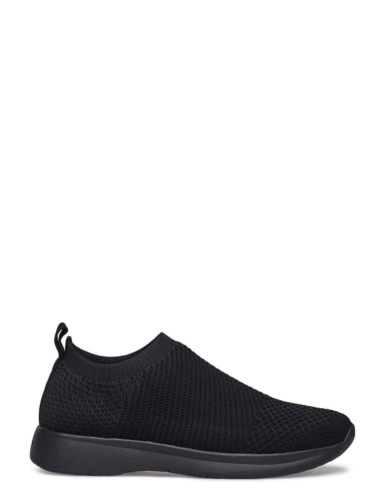 Vagabond Kasai Black Textile Lo Sneakers
