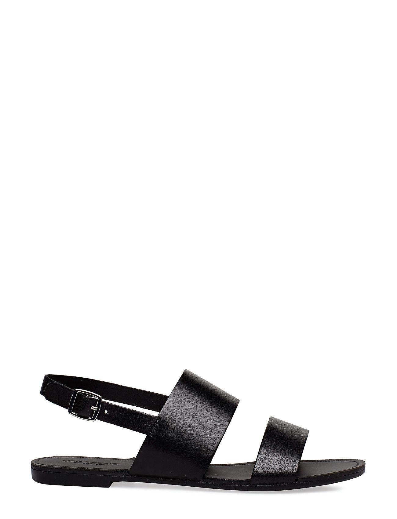 VAGABOND - TIA - płaskie sandały - black - 1