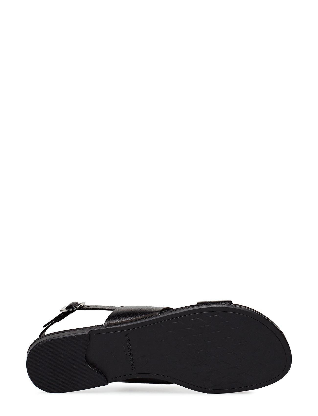 VAGABOND - TIA - płaskie sandały - black - 4