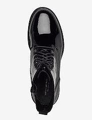 VAGABOND - KENOVA - platte enkellaarsjes - black - 3