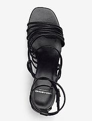 VAGABOND - AMANDA - sandały na obcasie - black - 3
