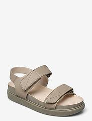 VAGABOND - ERIN - płaskie sandały - sage - 1