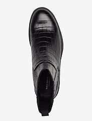 VAGABOND - AMINA - platte enkellaarsjes - black - 3