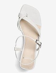 VAGABOND - LUISA - sandały na obcasie - white - 3