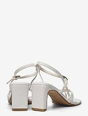 VAGABOND - LUISA - sandały na obcasie - white - 4