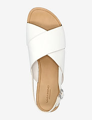 VAGABOND - TIA - płaskie sandały - white - 3