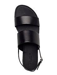 VAGABOND - TIA - płaskie sandały - black - 3