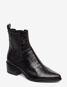 MARJA - ankle boots with heel - black