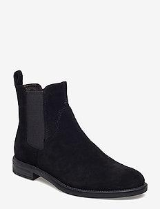 AMINA - chelsea boots - black