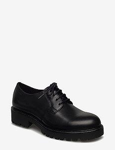 KENOVA - buty sznurowane - black