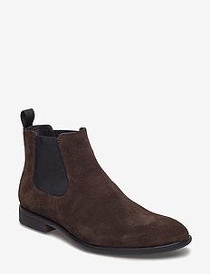 HARVEY - chelsea boots - java