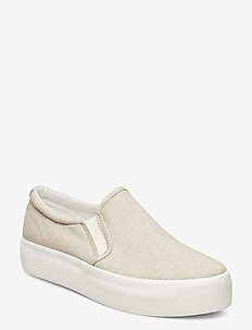 PEGGY - chunky sneakers - ecru
