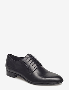 FRANCES - buty sznurowane - black