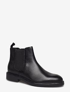 ALEX M - chelsea boots - black