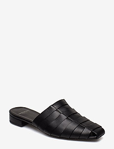 NIKKI - flat sandals - black