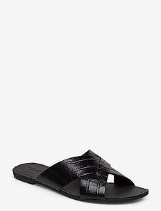 TIA - flade sandaler - black