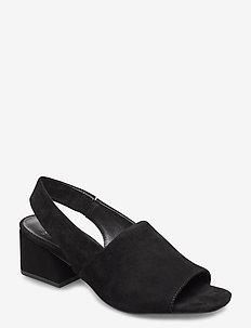 ELENA - sandalen met hak - black