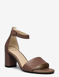 PENNY - sandales à talons - greige