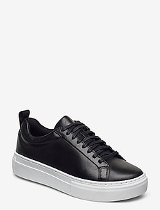 ZOE PLATFORM - låga sneakers - black