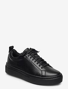 ZOE PLATFORM - låga sneakers - black/black