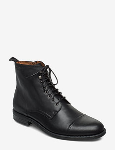 SALVATORE - veter schoenen - black