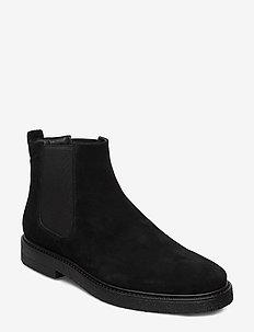 GARY - chelsea boots - black