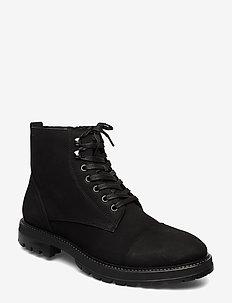 JOHNNY - schnürboots - black