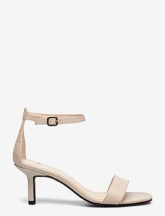 AMANDA - sandalen mit absatz - off white