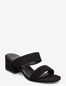ELENA - mules & slipins - black