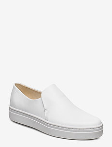 CAMILLE - slip-on sneakers - white