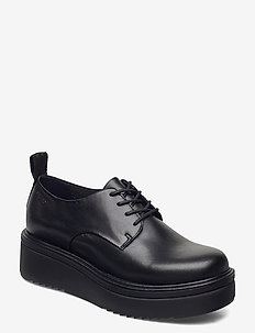 TARA - laced shoes - black