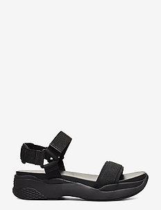 LORI - flache sandalen - black/black