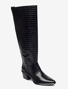 BETSY - lange laarzen - black