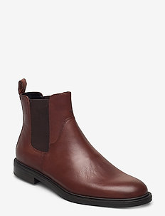 AMINA - chelsea boots - cognac