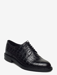 AMINA - buty sznurowane - black