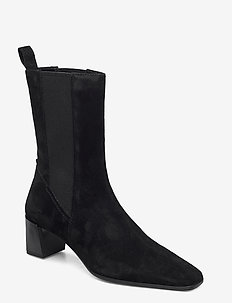 GABI - ankle boots with heel - black