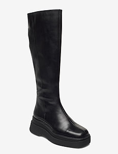 CARLA - long boots - black